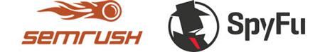 SEMrush & SpyFu logos