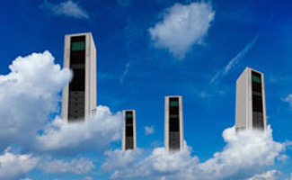 Servers in clouds