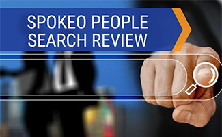 Finger tip searching (caption: Spokeo People Search Review)