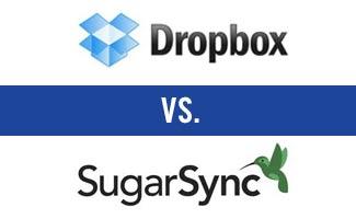 Dropbox vs SugarSync