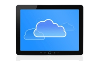 Tablet with cloud