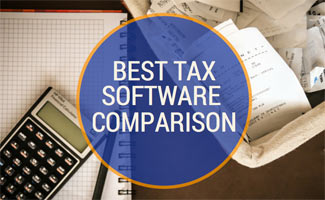 Notebook, calcuator and receipts: Tax Software Comparison Table