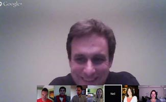 Google hangout meeting