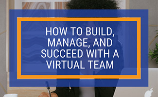 Woman working at desk at home (caption: How To Build, Manage, And Succeed With A Virtual Team)