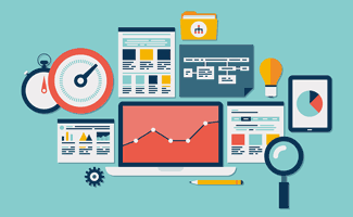 Website, SEO, and Analytics Icons