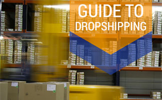 Forklift carrying boxes: What is Dropshipping?