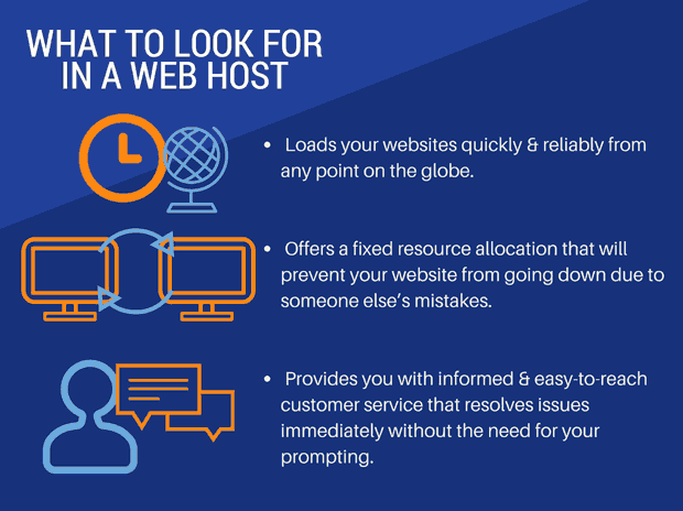 What to Look for in a Web Host?