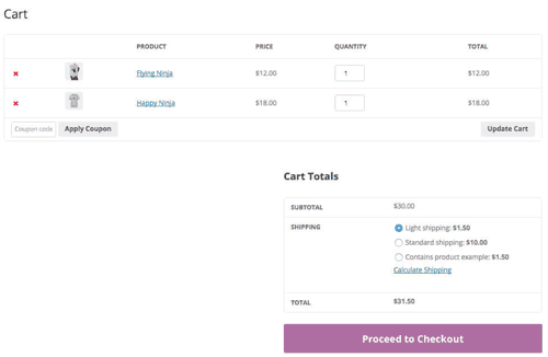 WooCommerce Advanced Shipping Review Screenshot