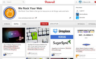 WRYW Pinterest board