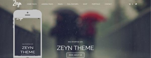 Zeyn Theme screenshots